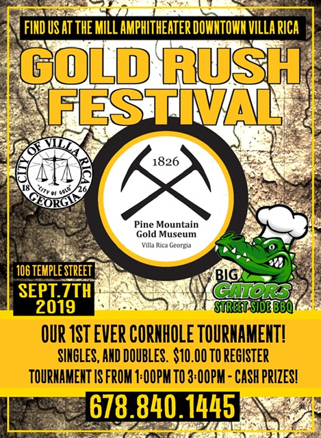 Pine Mountain Gold Rush Festival coming up -